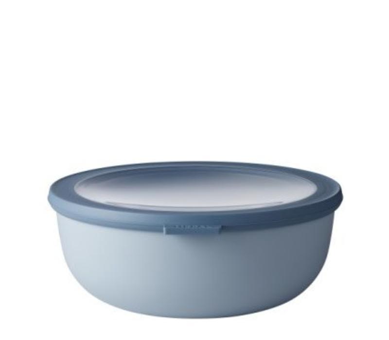 Mepal - multikom cirqula 2250 ml - nordic blue