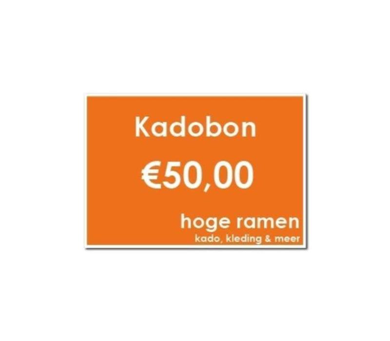 Kadobon - €50