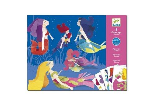 Djeco Djeco - vouwpakket - zeemeerminnen