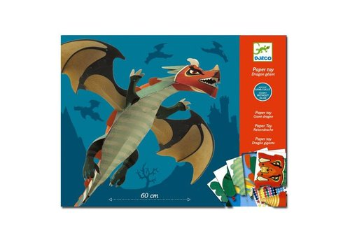 Djeco Djeco - vouwpakket - grote draak