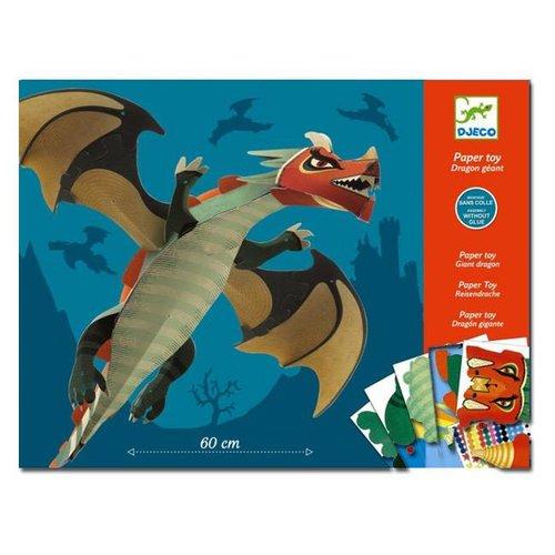Djeco - vouwpakket - grote draak