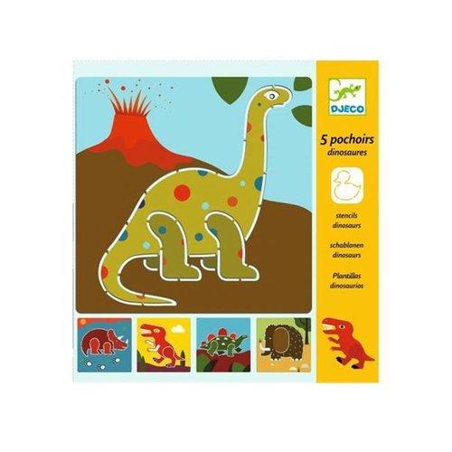 Djeco - sjablonen – dinosauriërs