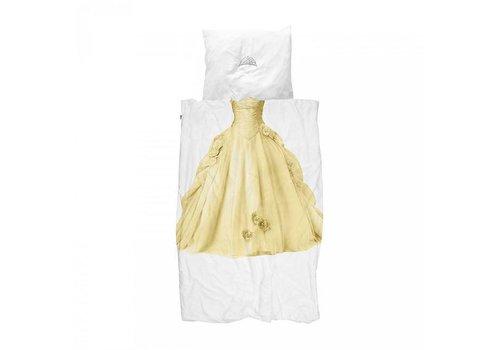 Snurk Snurk - dekbedovertrek - prinses geel