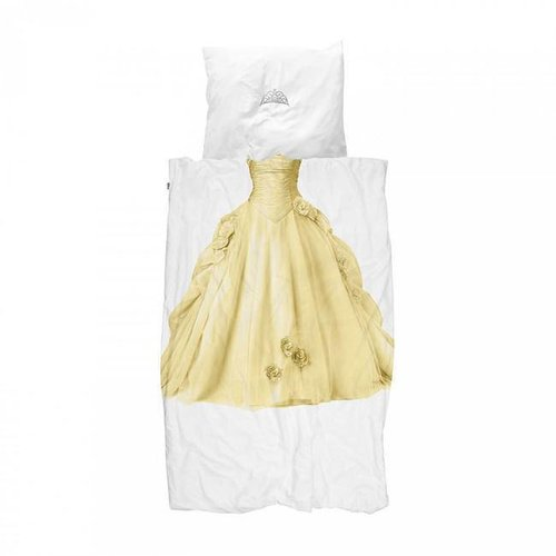 Snurk - dekbedovertrek - prinses geel