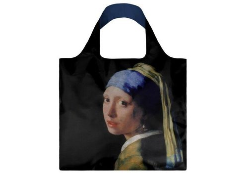 Loqi Loqi - opvouwtas - girl with a pearl earring