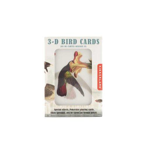 Kikkerland - vogel 3d speelkaarten