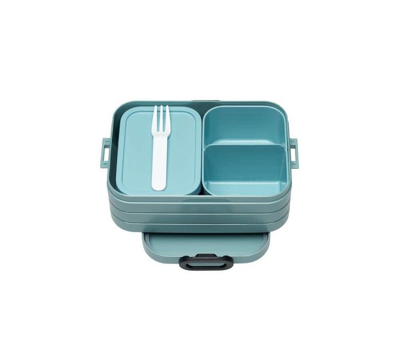 Mepal - bento lunchbox take a break midi - nordic green