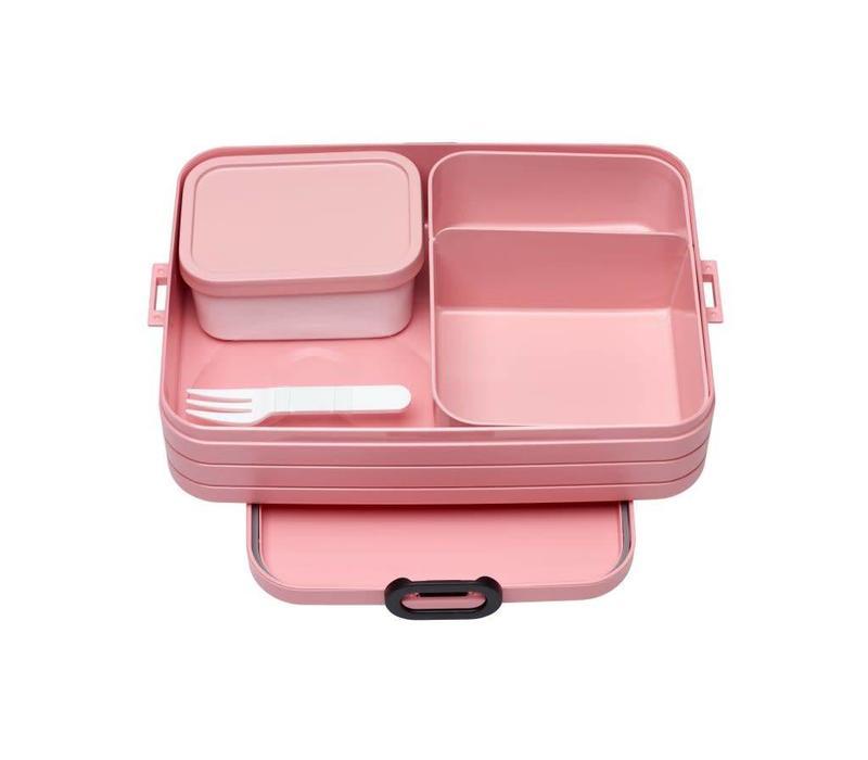 Mepal - bento lunchbox take a break large - nordic pink