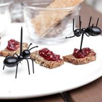 Kikkerland - party picks mieren (set van 20)