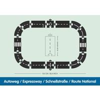 Way to play - flexibele autobaan - autoweg