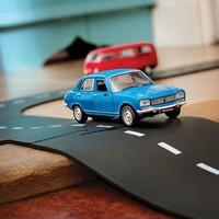 Way to play - flexibele autobaan uitbreidingsset - kruising