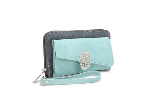 Hi-di-hi Hi-di-hi - portemonnee blade - d.blue/aqua