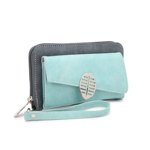Hi-di-hi - portemonnee blade - d.blue/aqua
