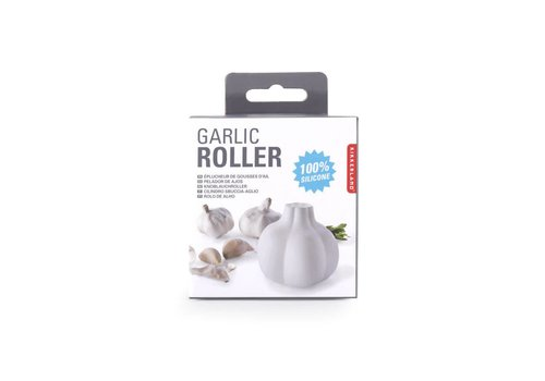 Kikkerland Kikkerland - knoflook roller