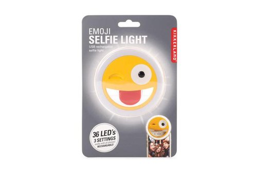 Kikkerland Kikkerland - emoji selfie light
