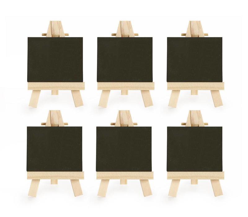 Kikkerland - mini naambordjes (set van 6)