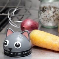 Kikkerland - keukenwekker - kat