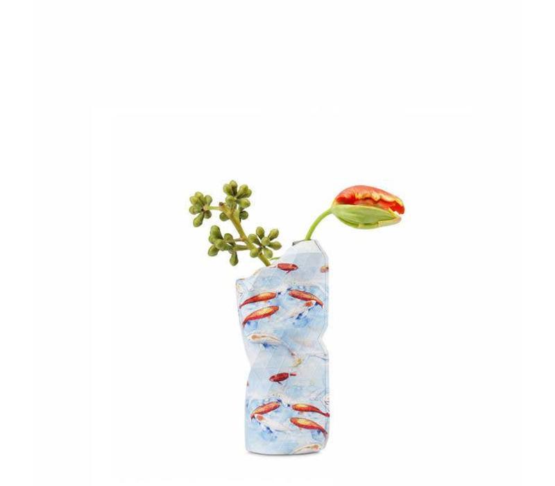 Pepe heykoop - vaas cover klein - blue fish