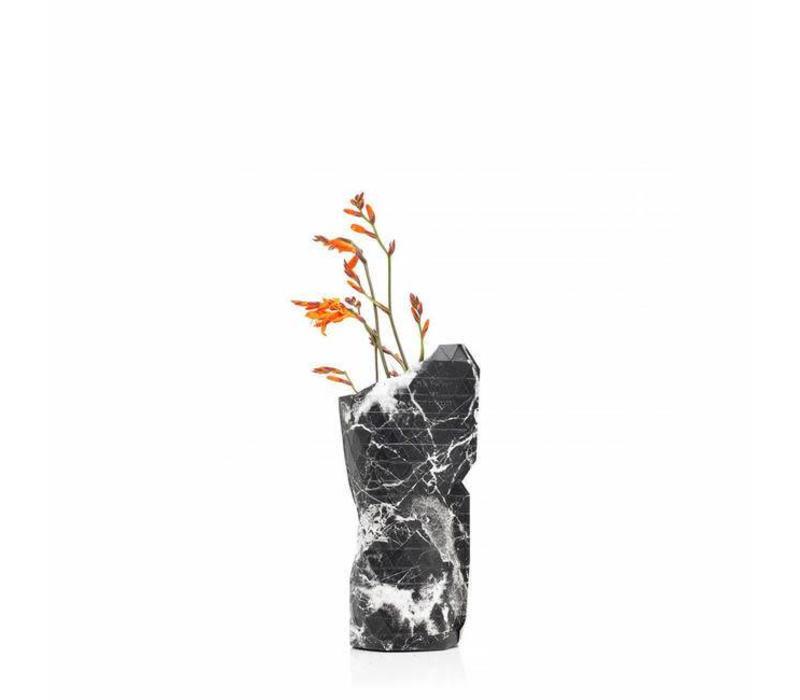 Pepe heykoop - vaas cover klein - marble black