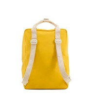 Sticky Lemon - rugzak envelope groot - warm yellow + soft pink + sporty red