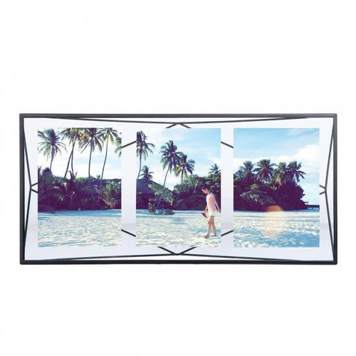 Umbra - fotolijst prisma - multi 3 - zwart
