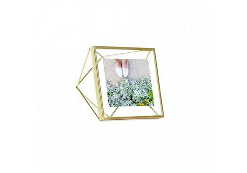Umbra Umbra - fotolijst prisma - 15x15 cm - matte brass