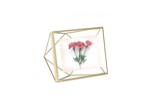 Umbra Umbra - fotolijst prisma - 15x20 cm - matte brass
