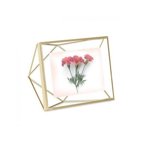Umbra - fotolijst prisma - 10x15 cm - matte brass