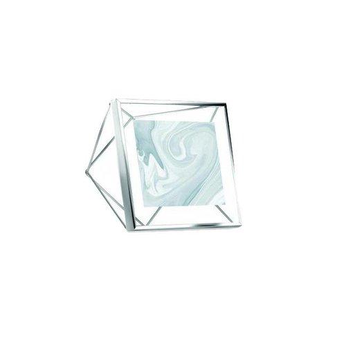 Umbra - fotolijst prisma - 10x10 cm - chrome