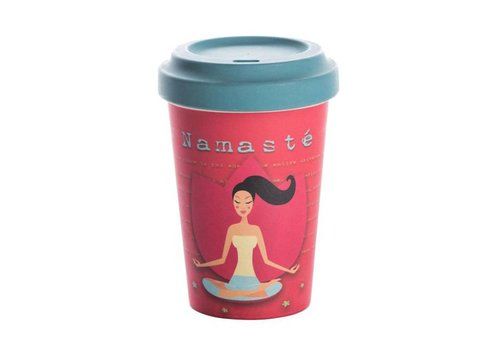 Chic mic Chic mic - bamboo cup - yoga love
