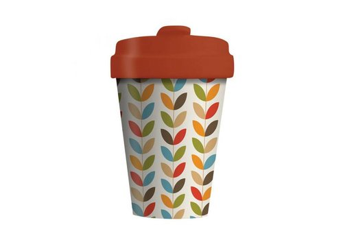 Chic mic Chic mic - bamboo cup - bright leaves