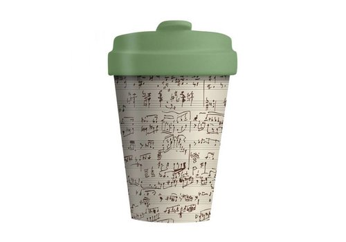 Chic mic Chic mic - bamboo cup - music notes