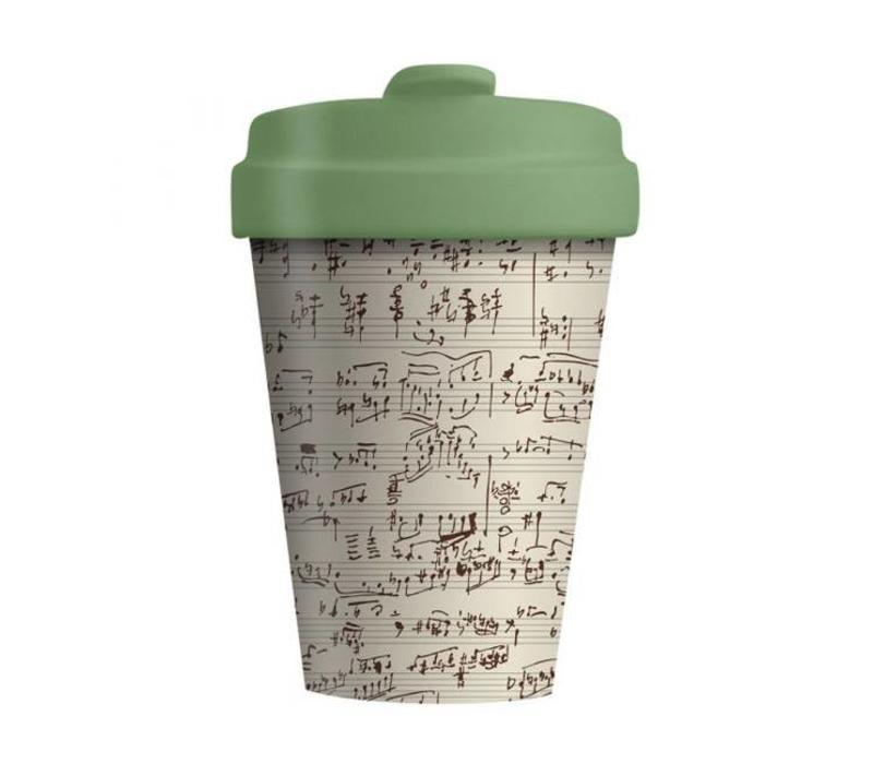 Chic mic - bamboo cup - music notes