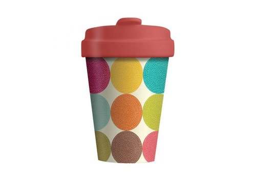 Chic mic Chic mic - bamboo cup - bright circles