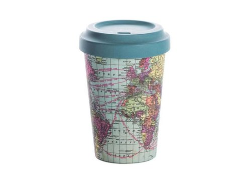 Chic mic Chic mic - bamboo cup - around the world