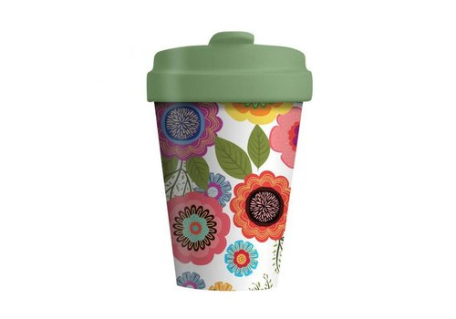 Chic mic Chic mic - bamboo cup - flower power