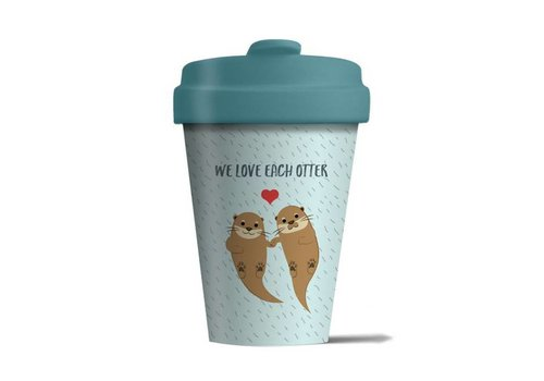 Chic mic Chic mic - bamboo cup - we love each otter