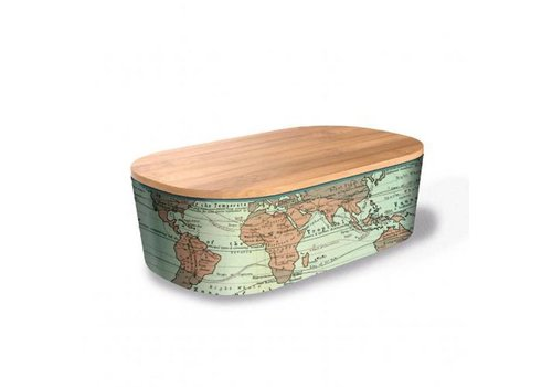 Chic mic Chic mic - lunchbox deluxe - world map