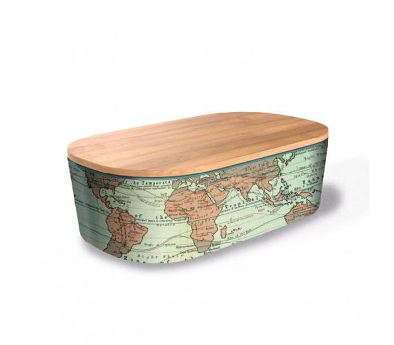 Chic mic - lunchbox deluxe - world map