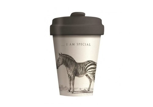 Chic mic Chic mic - bamboo cup - zebra