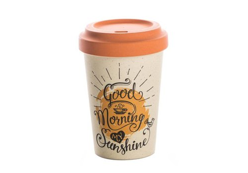 Chic mic Chic mic - bamboo cup - good morning sunshine