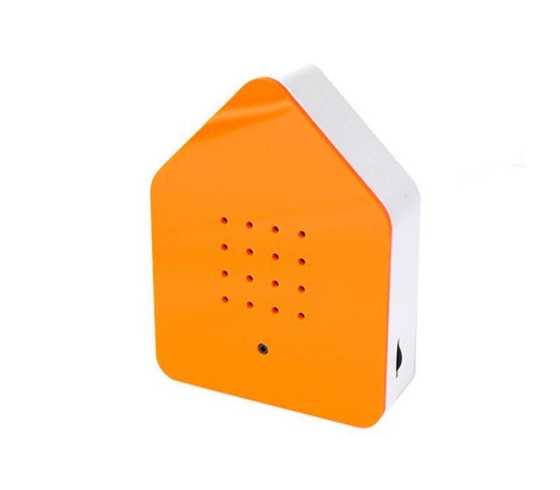 Zwitscherbox - vogelhuis relaxing - oranje