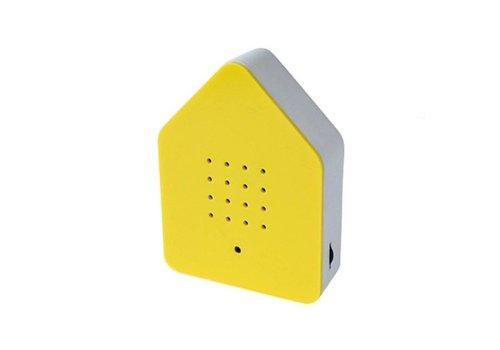 Zwitscherbox Zwitscherbox - vogelhuis relaxing - geel