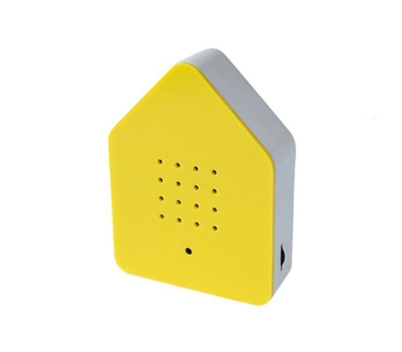 Zwitscherbox - vogelhuis relaxing - geel