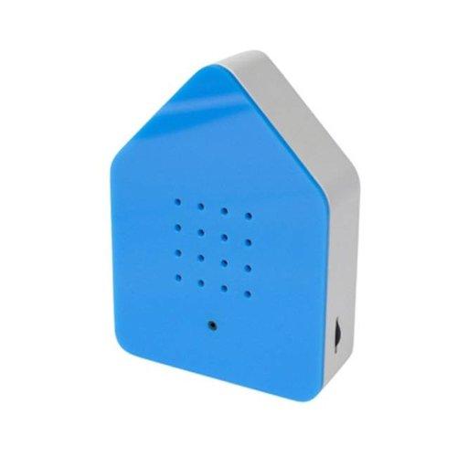Zwitscherbox - vogelhuis relaxing - blauw