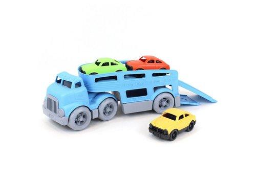 Green Toys Green Toys - vrachtwagen met 3 auto's