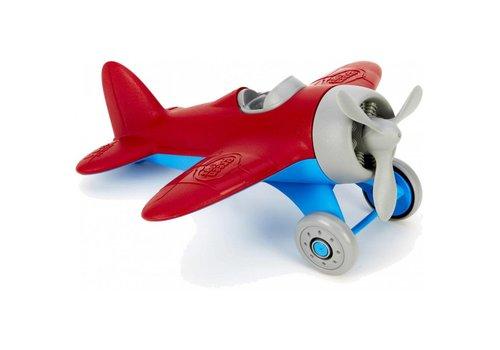 Green Toys Green Toys - vliegtuig - rood