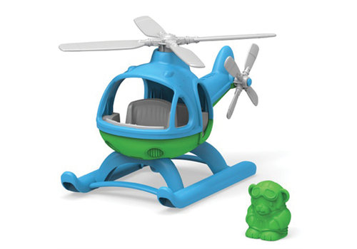Green Toys Green Toys - helicopter blauw
