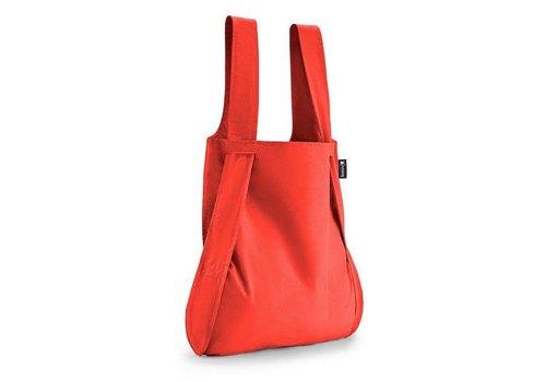 Notabag Notabag - opvouwrugtas - rood