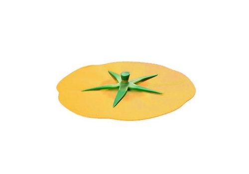 Charles Viancin Charles Viancin - siliconen deksel - tomato yellow (28 cm.)